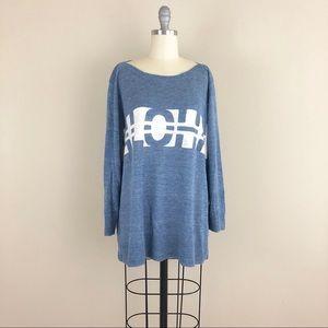 Madewell Aloha Linen Sweater